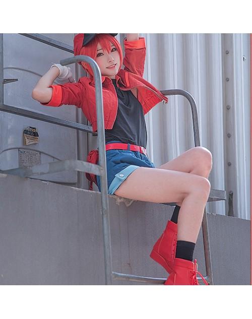はたらく細胞せっけっきゅうコスプレ仮装人気働く細胞赤血球衣装激安イベント仮装