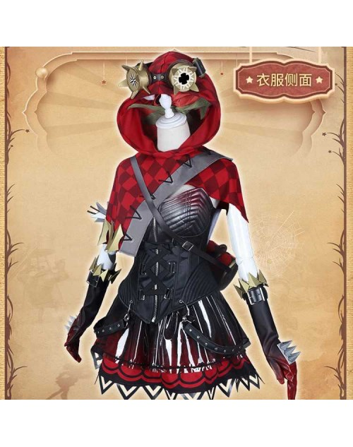 Identity V第五人格機械師赤ずきんコスプレ衣装サバイバートレイシーコスプレロリ風衣装セットステージ服