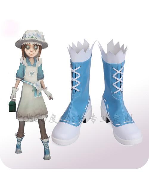 人気Identity V第五人格フラワーガールコスプレブーツ 庭師風エマ・ウッズコス靴オーダーメイド可能