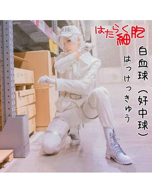 白血球はたらく コスプレ衣装激安働く細胞はっけっきゅう コス制服仮装高品質販売