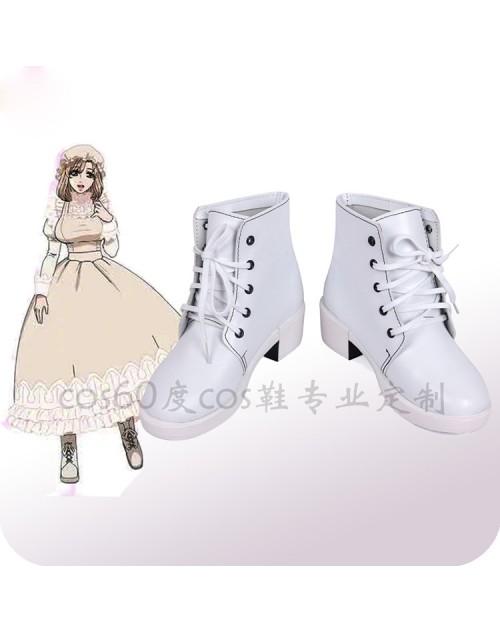 激安コスプレ靴はたらく細胞 マクロファージ風イベント仮装マクロファージ コス靴大人気