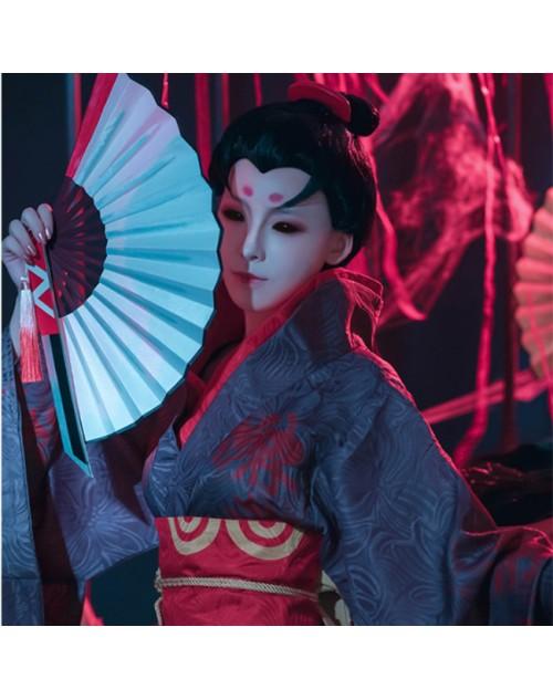 大人気アイデンティティV芸者美智子初期衣装第五人格IdentityⅤ赤蝶コスプレ着物オシャレ