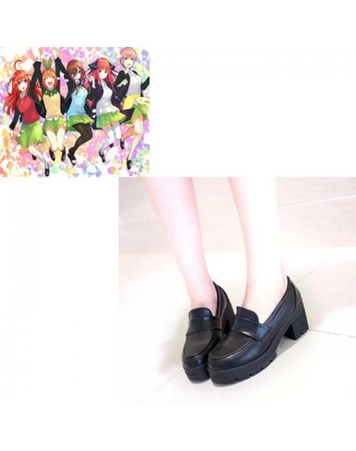 格安中野三玖五等分の花嫁コス靴cos靴高品質オーダーメイド可能