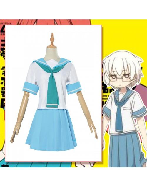 山下コスプレ衣装セーラー服上野さんは不器用コスチューム服通販