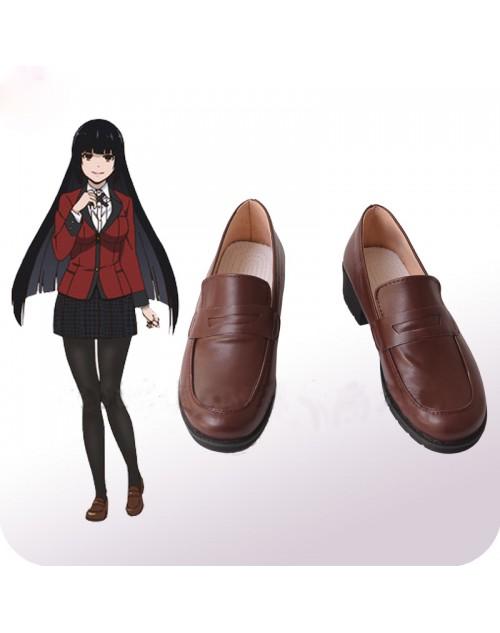 人気蛇喰 夢子じゃばみ ゆめこコスプレ靴 賭ケグルイcos靴高品質