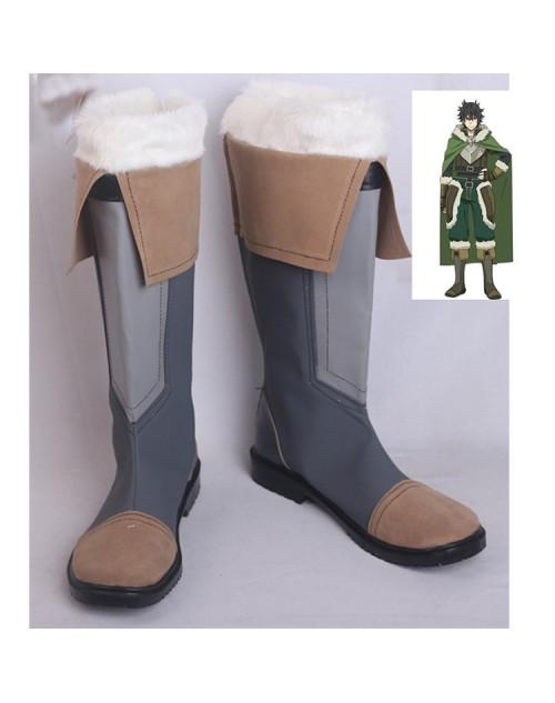 盾の勇者の成り上がりコスプレ岩谷尚文いわたに なおふみ靴ブーツ