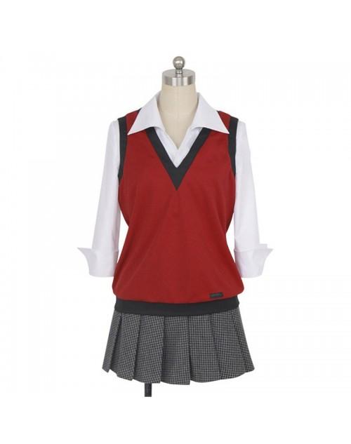 人気賭ケグルイ生志摩妄コスプレ衣装私立百花王学園いきしまみだり女子制服