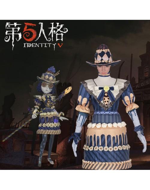 Identity Vアイデンティティ V心眼ヘレナ・アダムス金茶ケーキコスプレ衣装通販