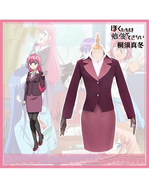 ぼくたちは勉強ができない桐須 真冬コスプレ衣装氷の女王きりす まふゆ制服