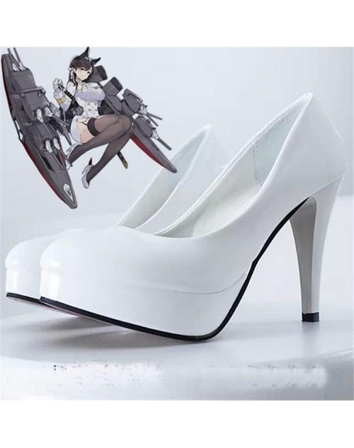 愛宕アズレンコスプレ靴Azur Lane愛宕cosplay靴コスチューム大人気