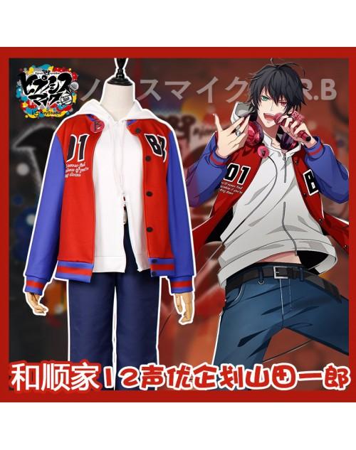 ヒプマイ山田一郎 Buster Brosコスプレ服やまだ いちろう 野球服パーカー普段使い