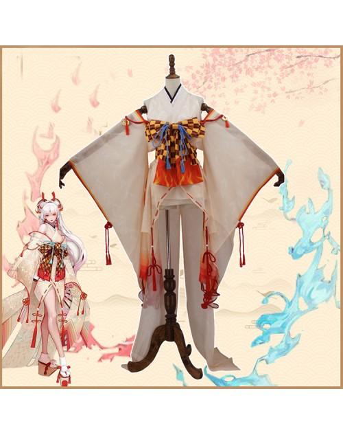 不知火覚醒前陰陽師コスプレ衣装SSR式神しらぬい美女歌姫着物変装高級