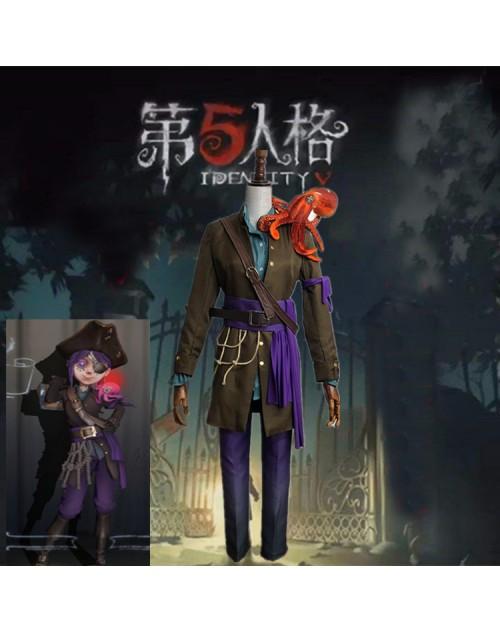 第五人格アイデンティティⅴ庭師海賊船大工衣装コスプレIdentityVエマ・ウッズコスチューム通販