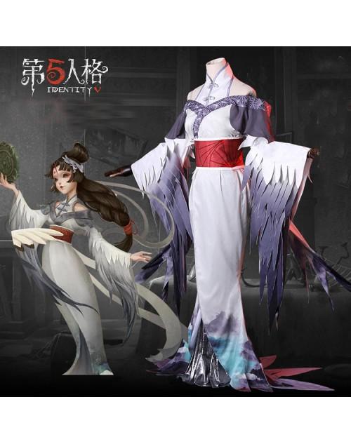 IdentityV芸者鶴の美人相コスプレ衣装第五人格美智子変装コスチューム服格安