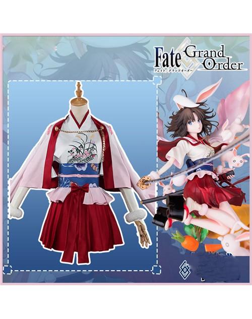 かわいい首切りバニー両儀式Fate/Grand Orderコスプレ衣装