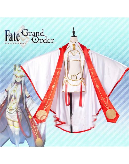 アイリスフィール天の衣フェイトグランドオーダーコスプレ衣装高品質