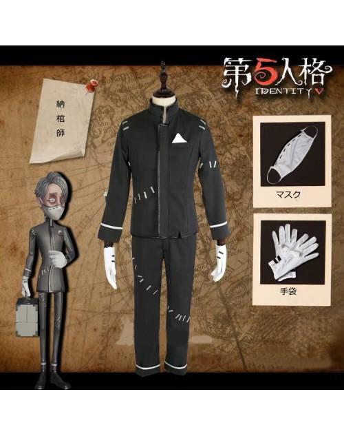 第五人格identity Ⅴ納棺師激安コス衣装おすすめアイデンティティ ⅴイソップ・カール仮装新品