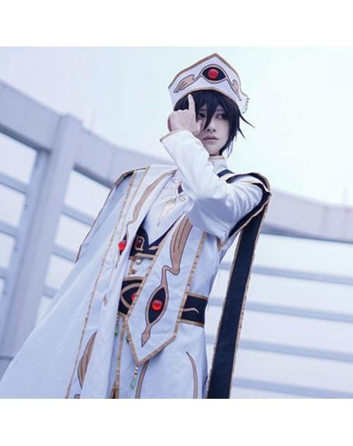 コードギアス 反逆のルルーシュR2 ルルーシュ・ランペルージ 皇帝服 コスプレ衣装 帽子付き  仮装