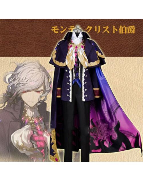 Fate/Grand Order カルデアエース 巌窟王 エドモン・ダンテス☆コスプレ衣装 ウィッグ