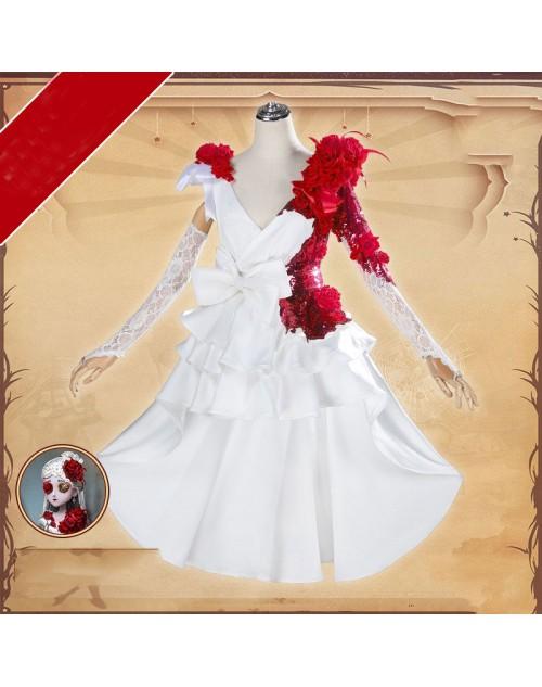 第五人格 IdentityV 調香師 スカーレットの新婦  ウィラ・ナイエル コスプレ衣装