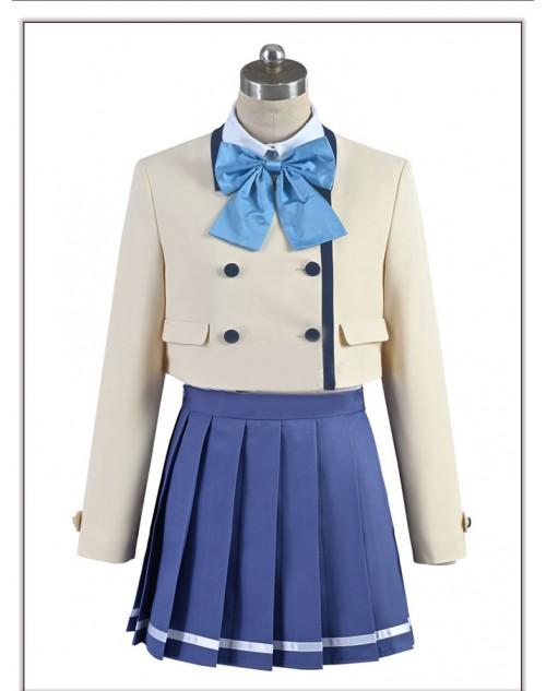 カノジョも彼女水瀬 渚コスプレ衣装かわいいcosplayアニメコスチューム 激安衣装 コス服制服ハイクストキングつきオリティ