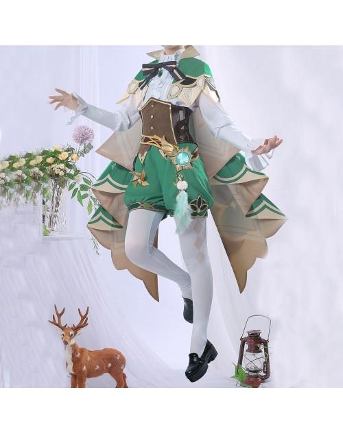 原神Genshinウェンティコスプレ衣装風魔神バルバトス風色の詩人モンドコス服cosplay衣装コスチュームハイクオリティ高再現度かわいい