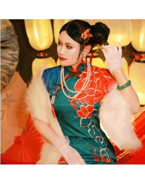 第五人格Identity V アイデンティティⅤ芸者十三娘コスプレ衣装チャイナドレスコス服cosplay服装サバイバーハイクオリティ