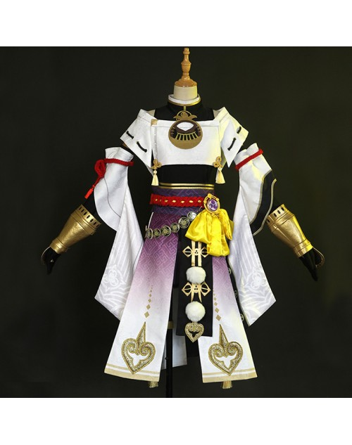 原神Genshin九条裟羅くじょうさらコスプレ衣装かわいいコスチュームおすすめ人気コスプレ衣装撮影定番クオリティ高い