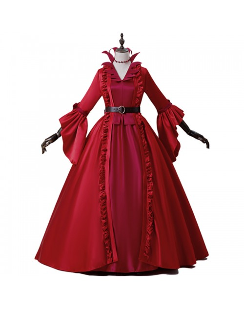 第五人格Identityv血の女王マリー初期衣装コスプレ衣装コスチューム撮影定番人気プレヤーおすすめハンターcosplay