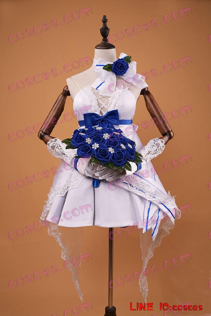 雷電芽衣花嫁 ドレス