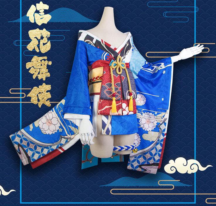 八重桜信濃の花コスプレ衣装